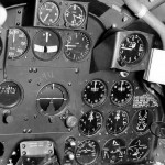 Lockheed P-38 Lightning cockpit 2