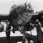 Lockheed P-38 Lightning nose art