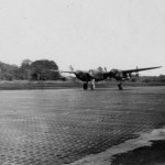 Lockheed P-38 Lightning takes off PTO