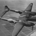 Lockheed P-38 Lightning training in the USA