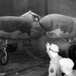 Lt General Doolittle in Lockheed P-38 Lightning Just Before He Takes Off On A Short Flight 23 March 1944
