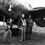 """P-38G Lightning 42-13173 """"Sweet Pea"""" of the 97th FS 82nd Fighter Group"""