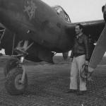 P-38G Lightning Nose Art Lt Seidman 14th FG