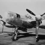 "Lockheed P-38J-15 44-23139 ""Pathfinder"" with AN/APS-15 radar. Burbank 1944"