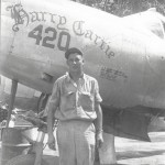 P-38J 20 Lightning #420 18th FG, 77th FS Nose Art Philippines 1945