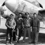 P-38J Lightning 42-68017 code N2-D, pilot Capt George Ceuleers of the 383rd FS 364th Fighter Group