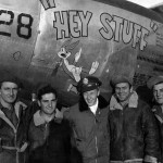 "P-38J Lightning 44-23628 ""Hey Stuff"" code 4N-L, pilot 1Lt Estabrook of the 394th Fighter Squadron 367th Fighter Group"