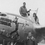 P 38J Lightning 44-23511 code H5-U Lt Fincher 367th FG Arkansas Traveler Nose Art