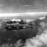 P-38J Lightnings 1st FG Formation 42-104428