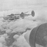 P-38L Lightning 18th FG in combat