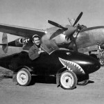 "P-38L Lightning #40 44-25734 ""Betts II"" of the 71st FS 1st Fighter Group, Lesina Italy"