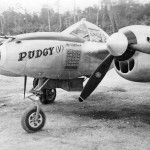"P-38L Lightning 131 s/n 44-24155 ""Pudgy V"". pilot Maj Thomas McGuire 431st FS 475th FG, Luzon"
