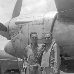 P-38L Lightning Capt Salling and Lt Baer 347th FG 67th FS