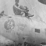 P-38L Lightning pilot 2Lt Jim Hunt 27th FS Maloneys Pony nose art