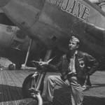 P-38L Lightning pilot Lt Col Ashkins 1st FG Peggy Jane Nose Art Italy 1945