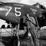 "P-38G Lightning #75 ""Earthquake McGoon"", pilot Lt Richard Campbell 37th FS 14th FG"