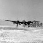 P-38 LIGHTING LANDING GUADALCANAL