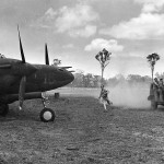 P-38 Lightning #18 from 39th FS 35th Fighter Group at Schwimmer Air Base Port Moresby 1943