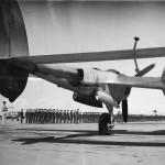 P-38 Lightning Frames Aviation Cadets on Graduation Day at Moore Field