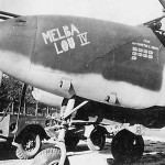 """P-38 Lightning """"MELBA LOU IV"""" of the 459th Fighter Group"""