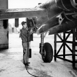 P-38 Lightning Maintenance Burtonwood England 3