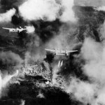 P-38 Lightning Napalm Bombing Near Ipo Dam Luzon Philippine