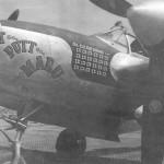 P-38 Lightning Putt Putt Maru With 24 Kill Markings