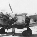 P-38 Lightning named T-Rigor Mortis II, #134, of the 431st FS, 475th Fighter Group Pacific