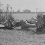 P-38 Lightning of 8th AF wreckage