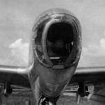 P-38 Lightning with bombadier nose