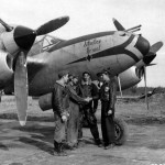 """P-38 Lightning """"Situation Normal"""" pilot 1Lt Ray Evans 393rd FS 367th FG at Clastres airfield A-71 France 7 October 1944"""