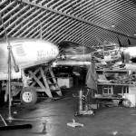 P-38 and F-5 Lightning Maintenance Burtonwood England