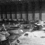 P-38 Lightning assembly at Maison Blanch Algeria 31 March 1944