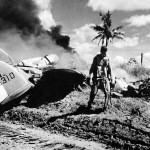 Pilot Lt Ford of the 36th FS 8th Fighter Group miraculously walks away from the crash landing of his P-38L Lightning, 20 December 1944