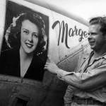 Richard Bong and P-38 Lightning Marge