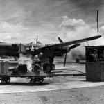 Steam Cleaning A Lockheed P-38 Lightning 27th Air Depot Group Port Moresby Papua New Guinea
