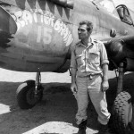 2lt Lawrence N Succop, 7th Fighter Squadron 49th Fighter Group P-40 #15 named Scatter Brain