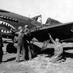 74th Fighter Squadron 23rd Fighter Group Check The Guns On A Curtiss P-40 At Kunming China