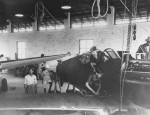 Chinese Mechanics Assemble P-40 in Rangoon Burma