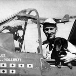 Col Bruce K. Holloway commander 23rd Fighter Group in P-40K