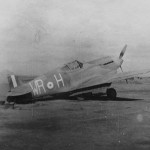 Curtiss P-40 of the 40 Squadron SAAF code WR+H