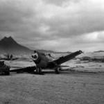 December 7, 1941 Wrecked P-40 At Belows Field