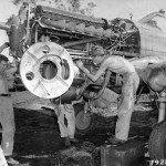 Engine Of A Curtiss P-40 7th Fighter Group Dobodura New Guinea