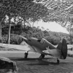 P-40C 6th Air Force in camouflaged revetment December 1942