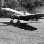 P-40E Poopy II of the 7th FS 49th Fighter Group Dobodura New Guinea 1943