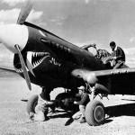 """P-40K 42-9870 named """"Mimi"""" China"""