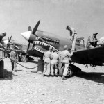 "P-40K ""Lady Eleanor"" of the 16th FS 51st FG Chengkung airfield China late 1943"