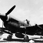 P-40N armed with rockets of the 26th FS 51st Fighter Group