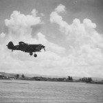 P-40A number 74 of the 23rd FG 14th AF, Approaches The Field For A Landing At Kunming China After A Mission. September 1942