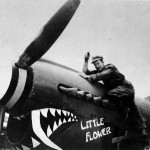 "P-40 named ""Little Flower"" of the 51st FG Kunming"